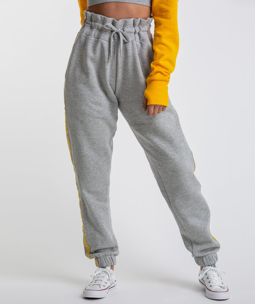 Gymshark Oversized Joggers - Light Grey Marl 1