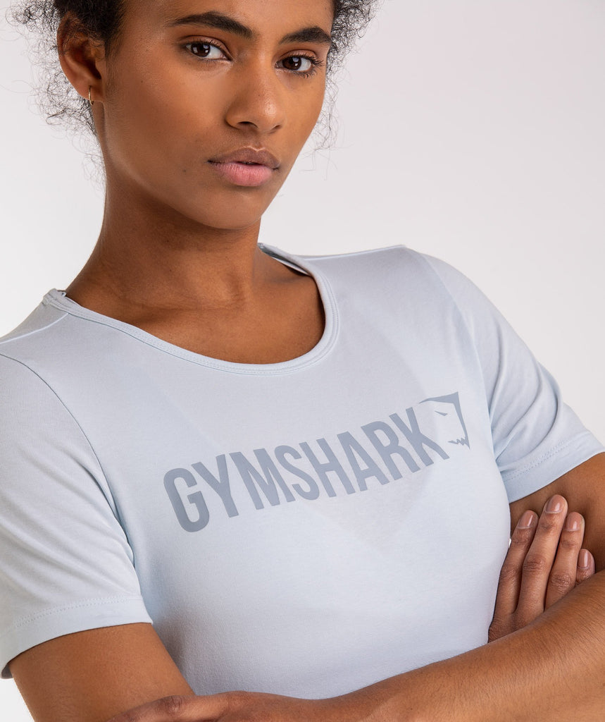 Gymshark Apollo T-Shirt - Ice Blue 5