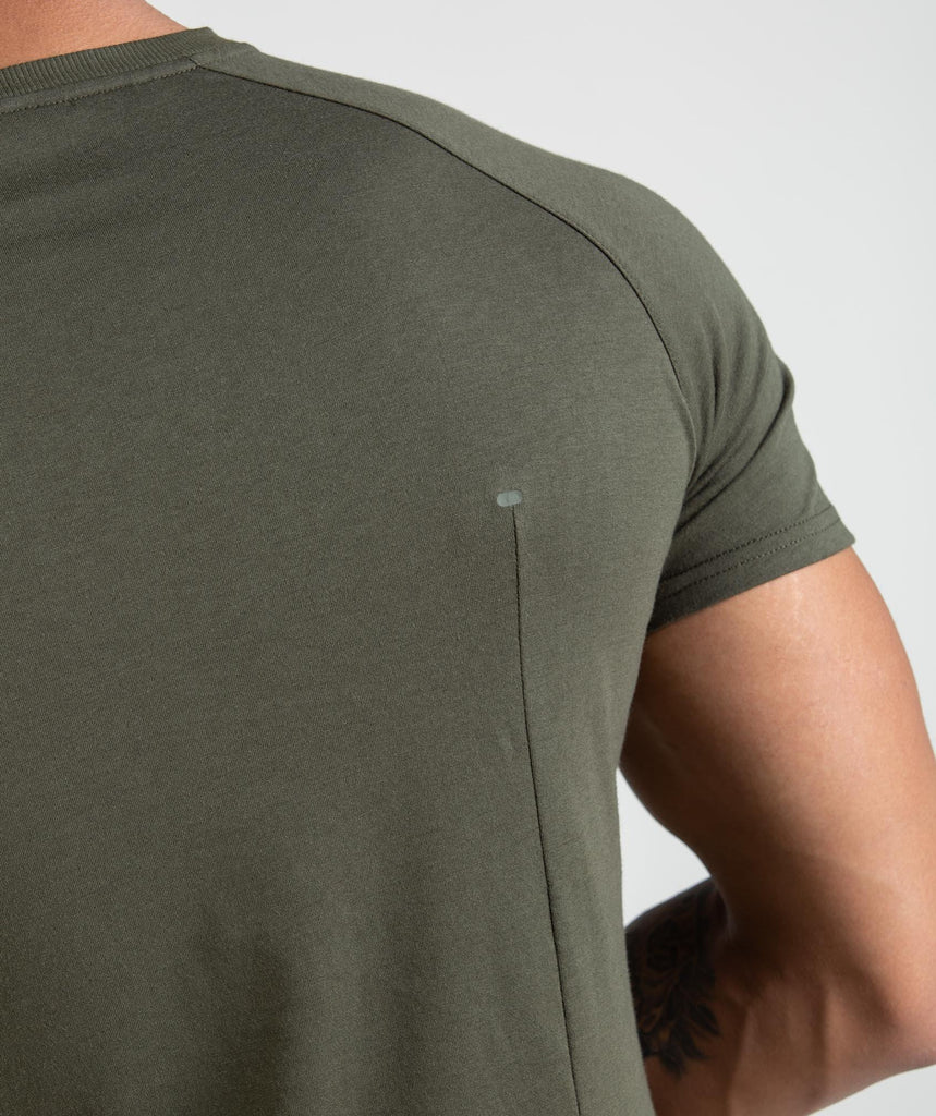Gymshark Construction T-Shirt - Alpine Green 5