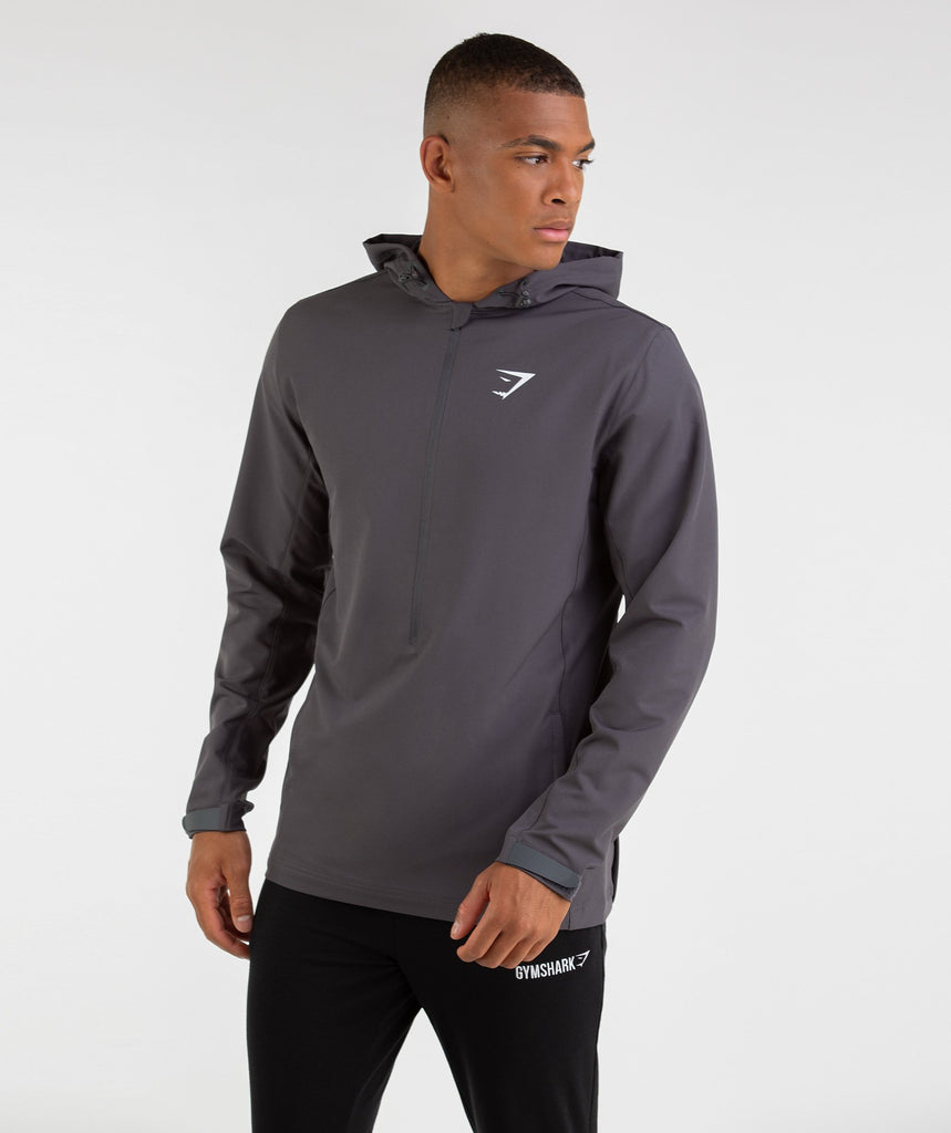Gymshark Stealth Pullover - Charcoal 1
