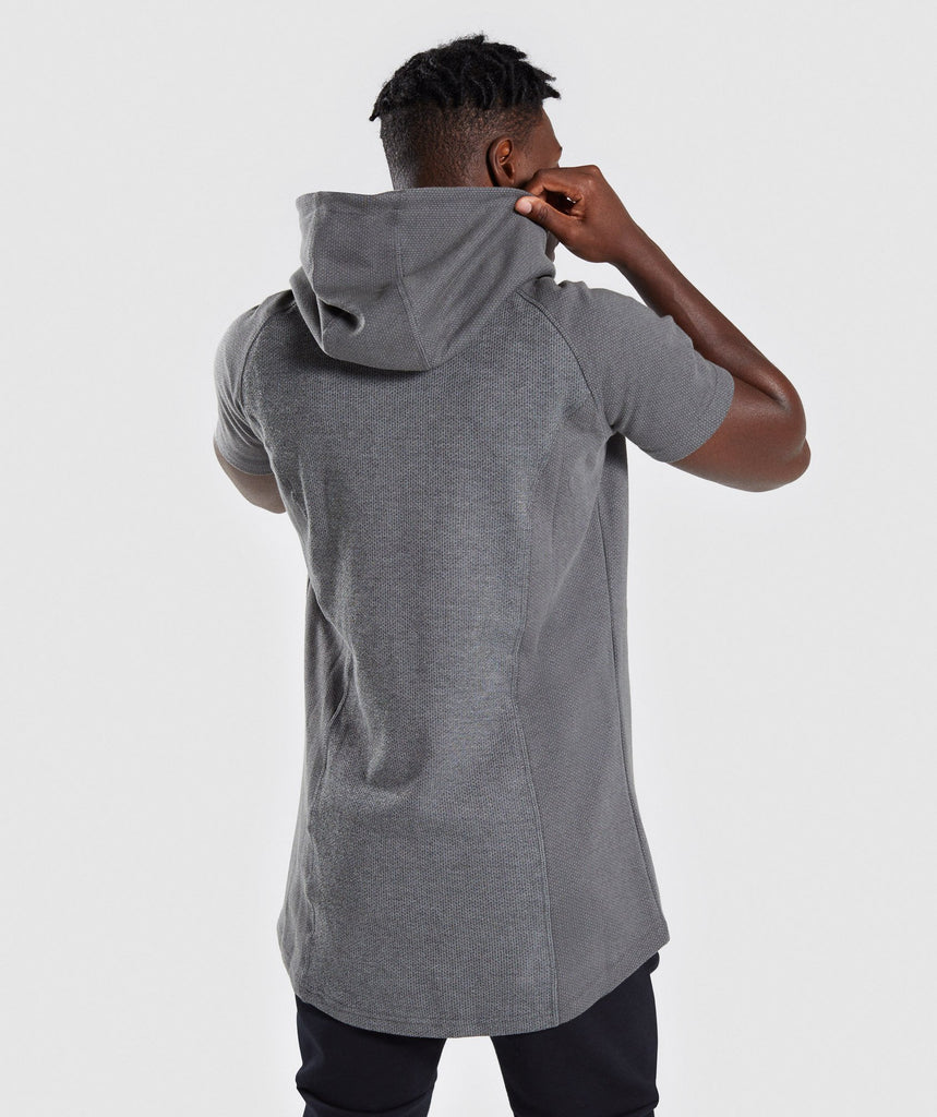 Gymshark Jacquard Pullover - Charcoal Marl 2