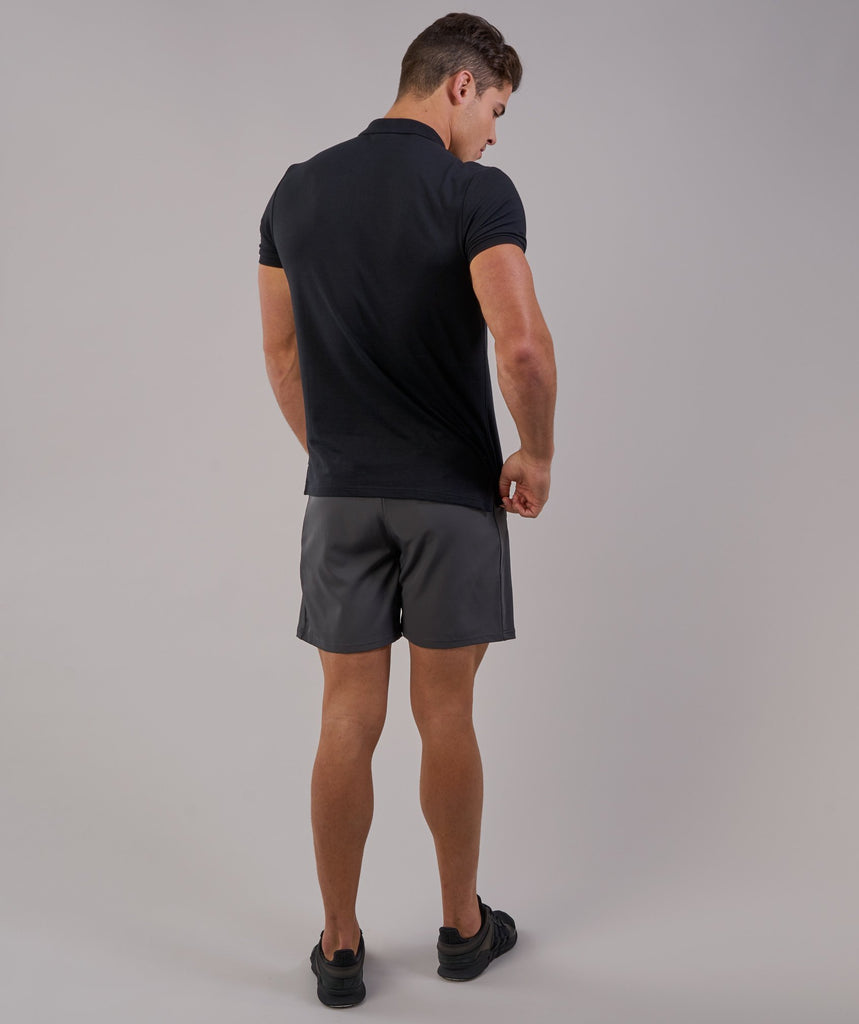 Gymshark Ace Polo - Black 2