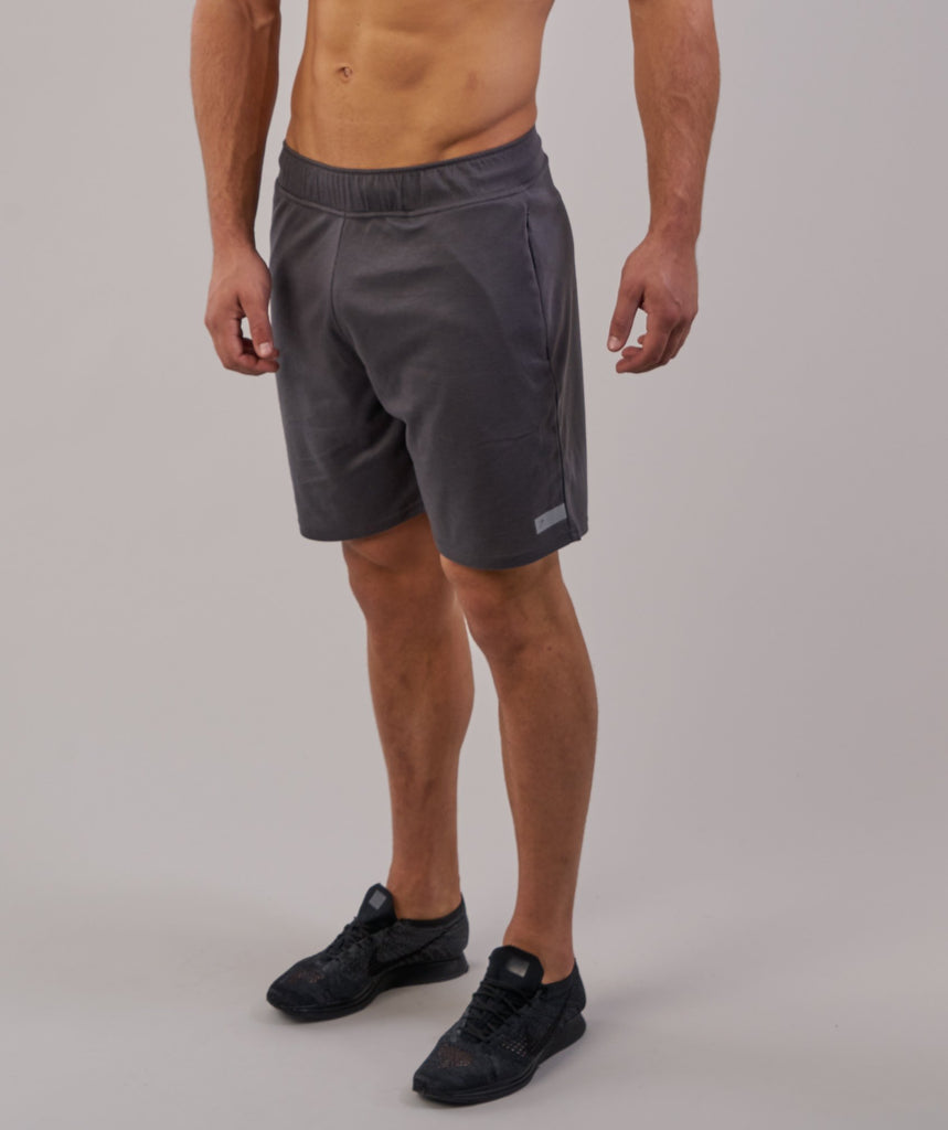 Gymshark Free Flow Shorts - Charcoal 5
