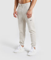 Gymshark Laundered Joggers - Chalk Grey 7