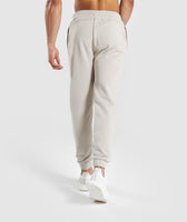 Gymshark Laundered Joggers - Chalk Grey 8
