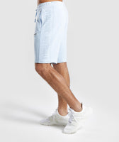 Gymshark Laundered Shorts - Light Blue 9