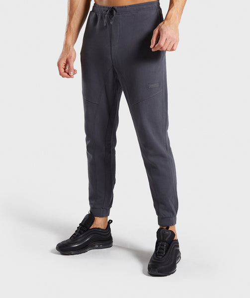 Gymshark Laundered Joggers - Charcoal 4