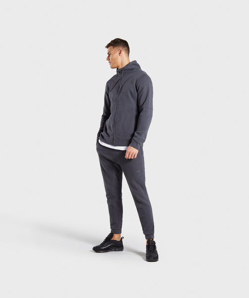 Gymshark Laundered Joggers - Charcoal 3