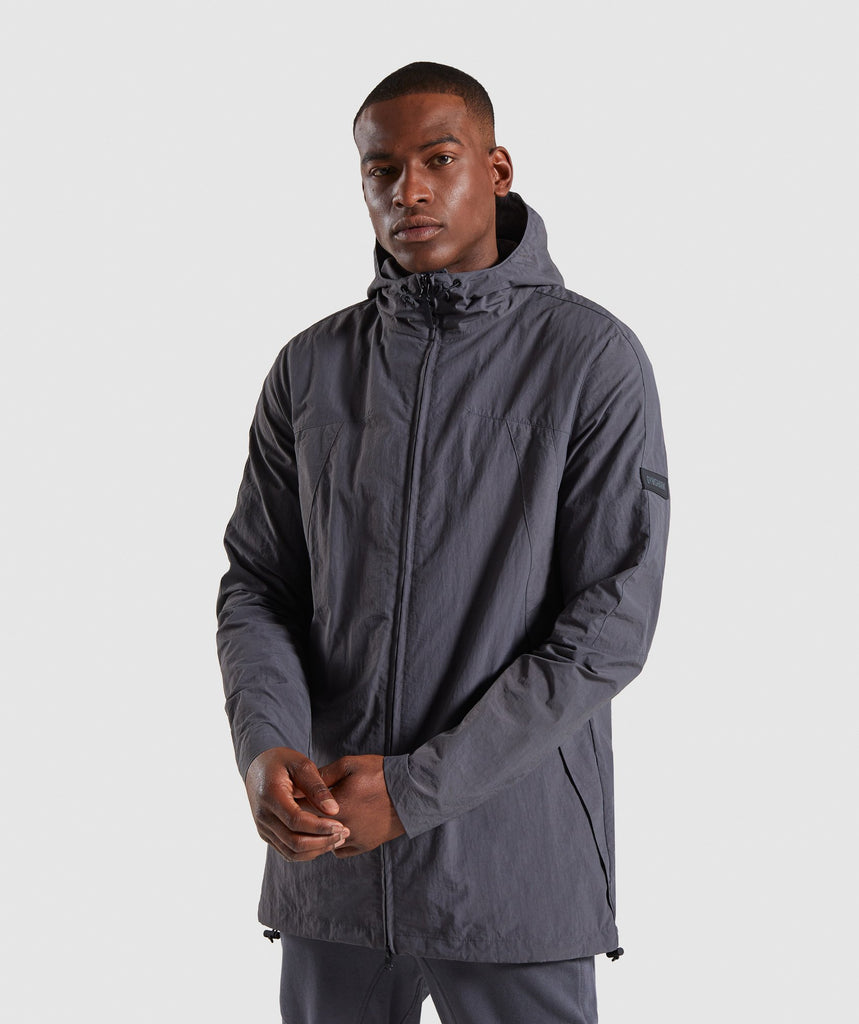 Gymshark Laundered Jacket - Charcoal 1