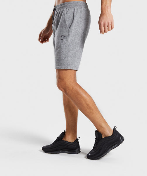 Gymshark Lounge Shorts - Grey Marl 2