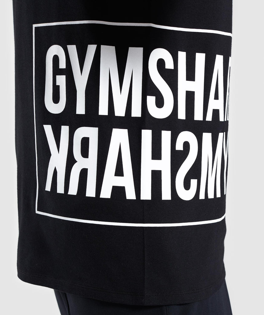 Gymshark Mirror T-Shirt - Black 5