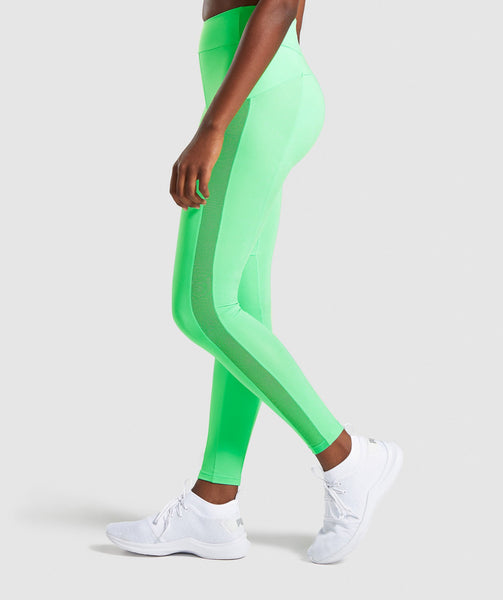3c18a6dc3cf2e Gymshark Move Leggings - Light Green | Gymshark