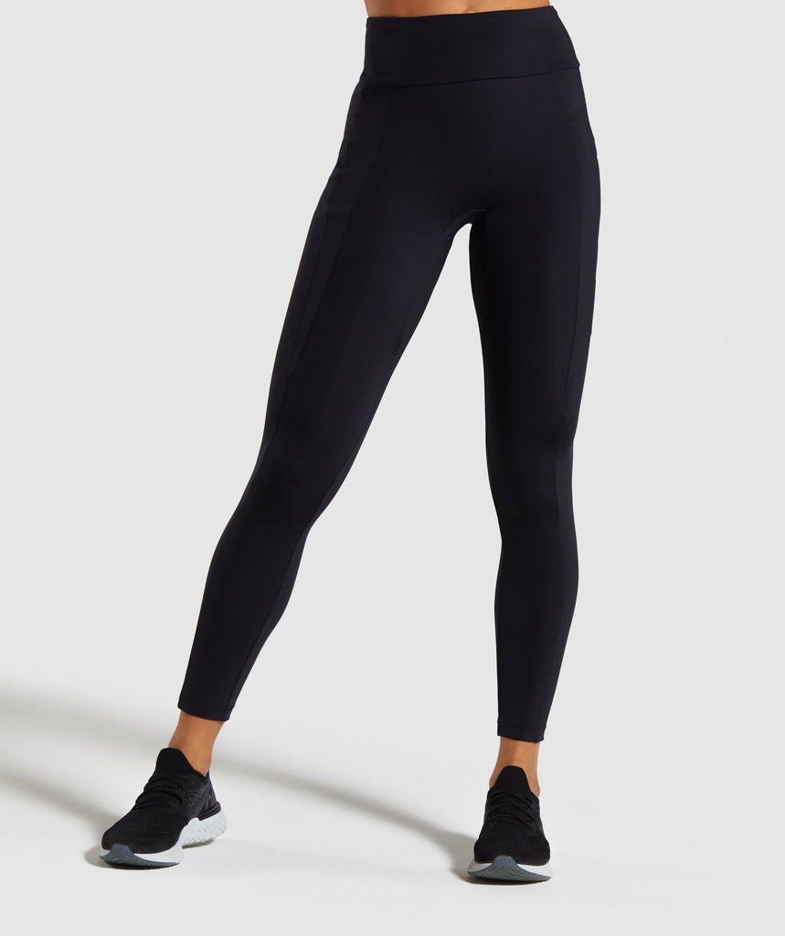 Gymshark Non Stop Leggings - Black 1