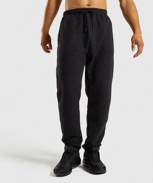 Gymshark Oversized Jogger - Charcoal Marl 2