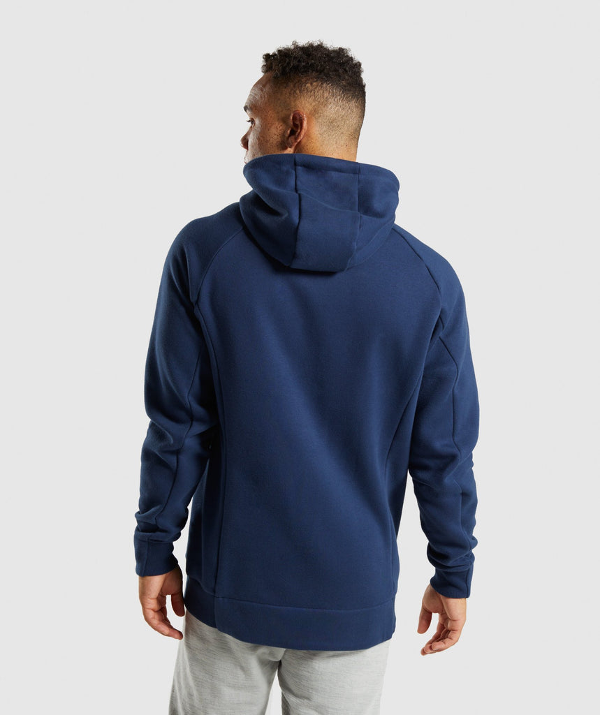 Gymshark Oversized Hoodie - Sapphire Blue 2