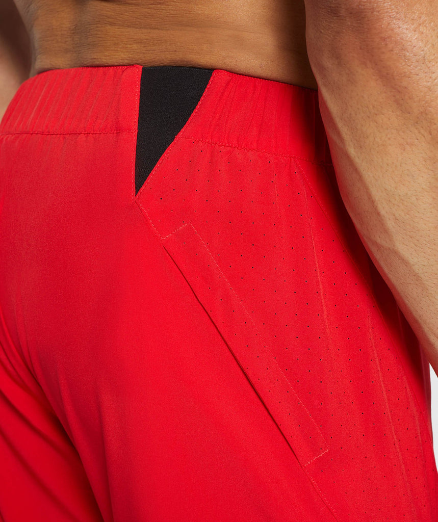 Gymshark Performance Board Shorts - Red 6