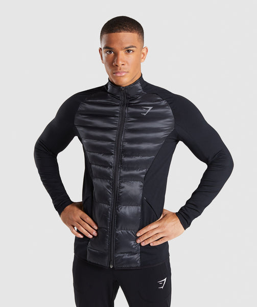 Gymshark Power Lightweight Jacket - Black 4