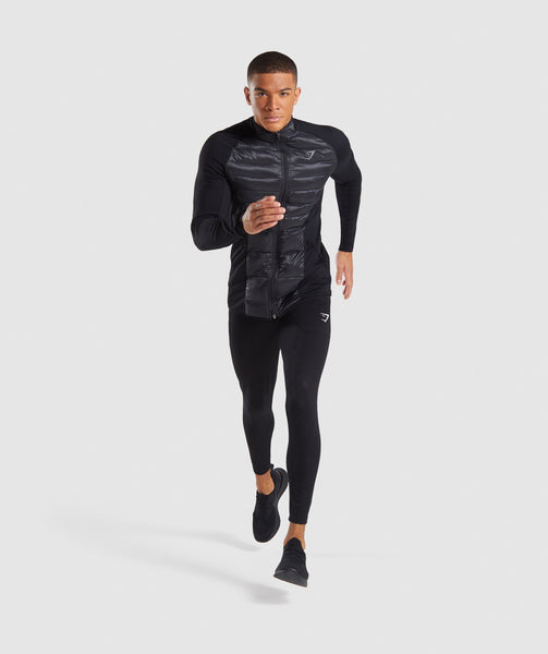 Gymshark Power Lightweight Jacket - Black 3