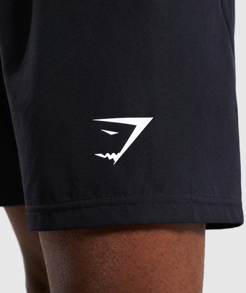 Gymshark Premium Training Shorts- Black 5