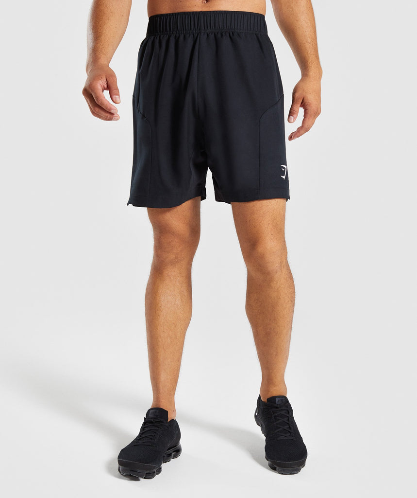 Gymshark Primary Shorts - Black 1