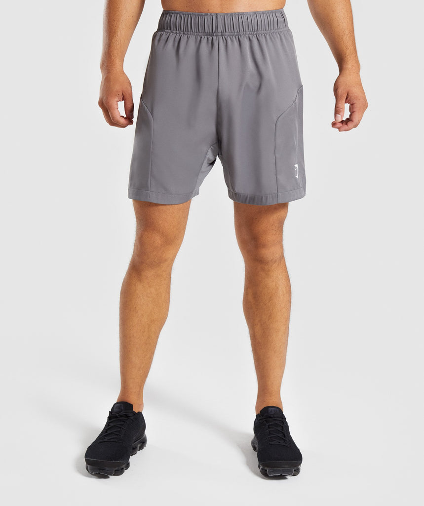 Gymshark Primary Shorts - Smokey Grey 1