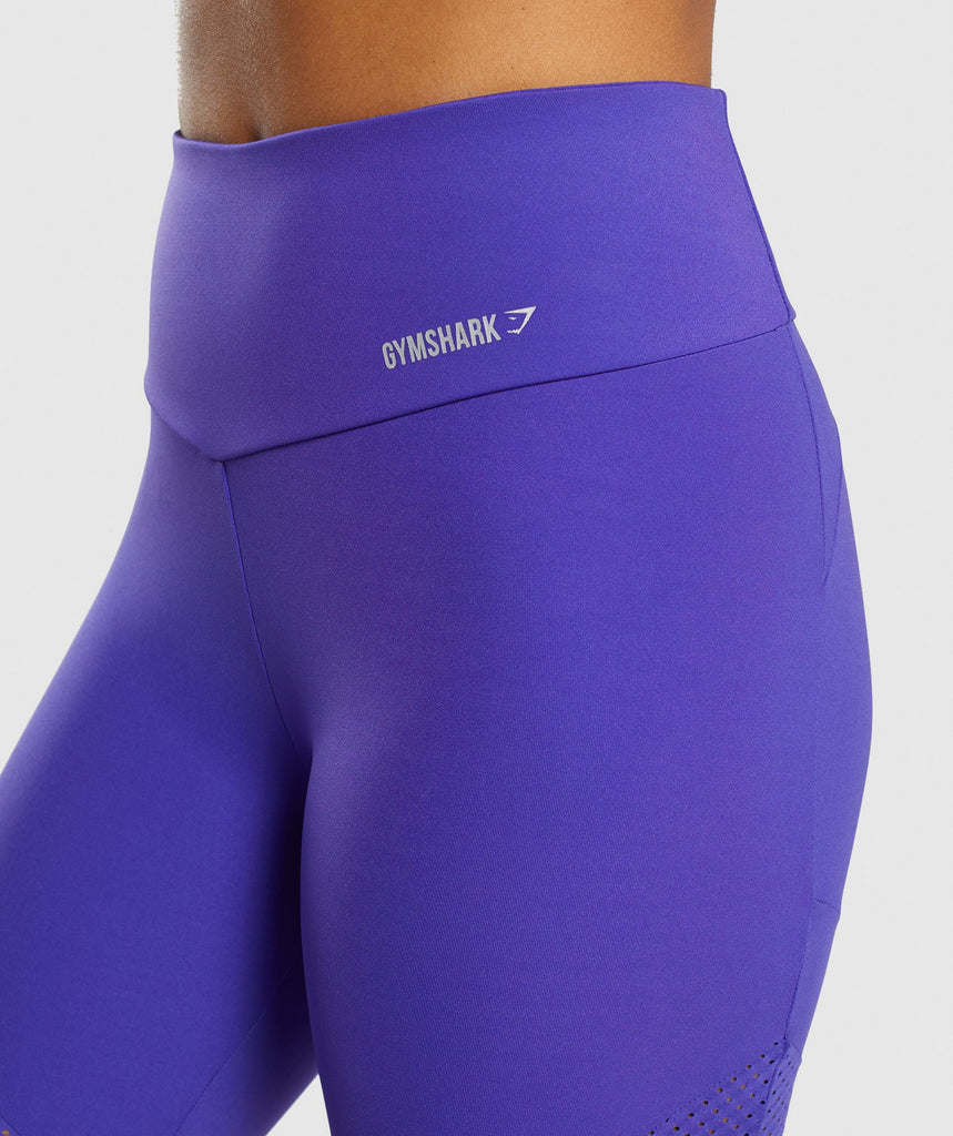 Gymshark Pro Perform Crop Leggings - Indigo 6