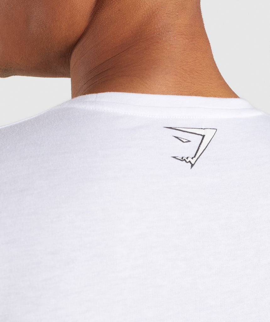 Gymshark Profile T-Shirt - White 5