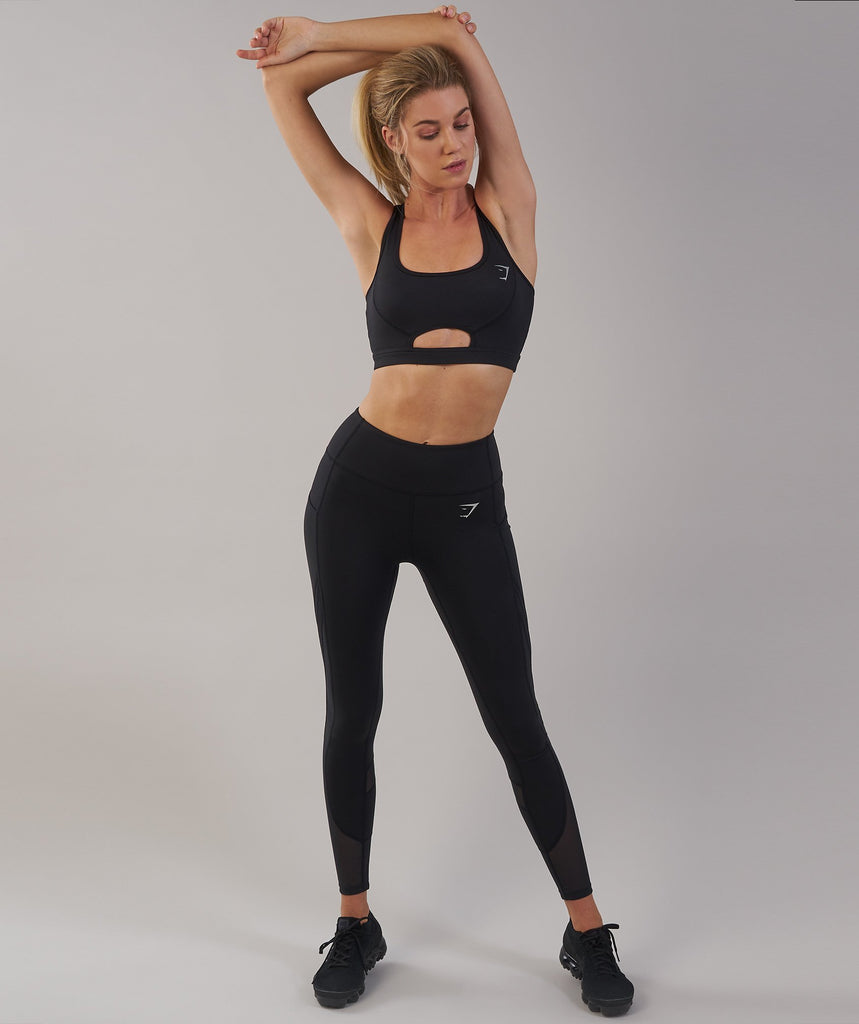 Gymshark Sleek Sculpture Leggings 2.0 - Black 4