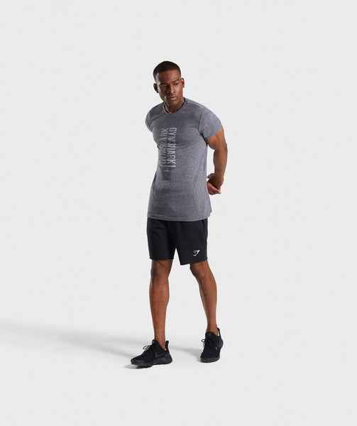 Gymshark Statement T-Shirt - Charcoal Marl 3
