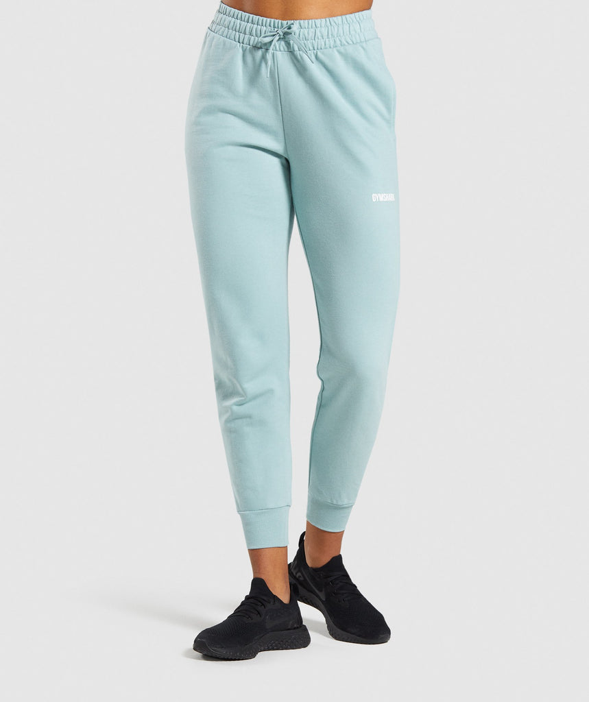 Gymshark Training Joggers - Light Green 1