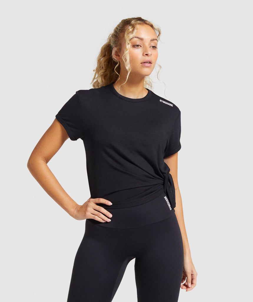 Gymshark Training Oversized Tee - Black 1