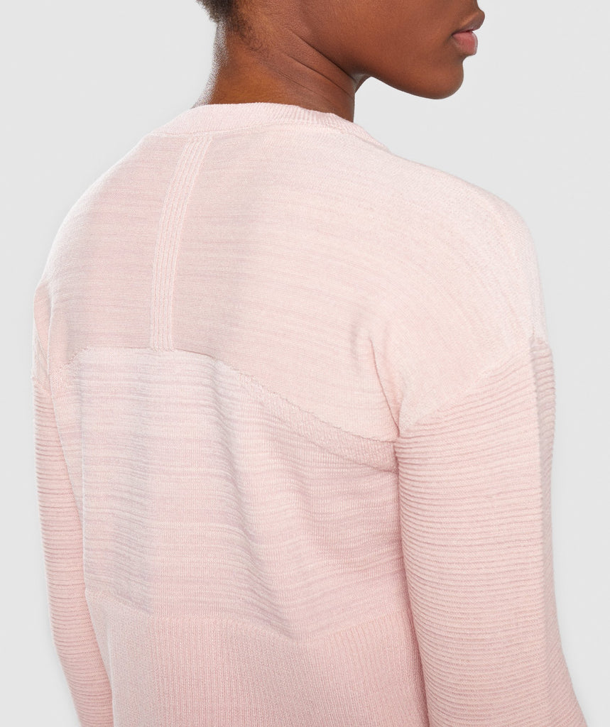 Gymshark Time Out Knit Sweater - Blush Nude 5