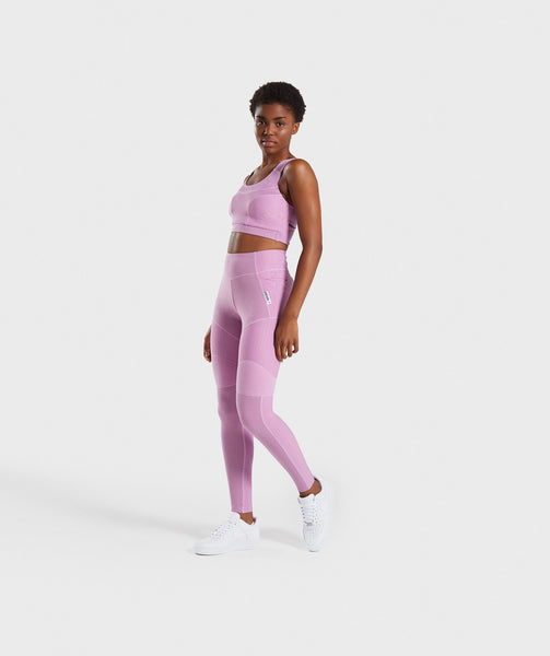 Gymshark True Texture Sports Bra - Pink 3