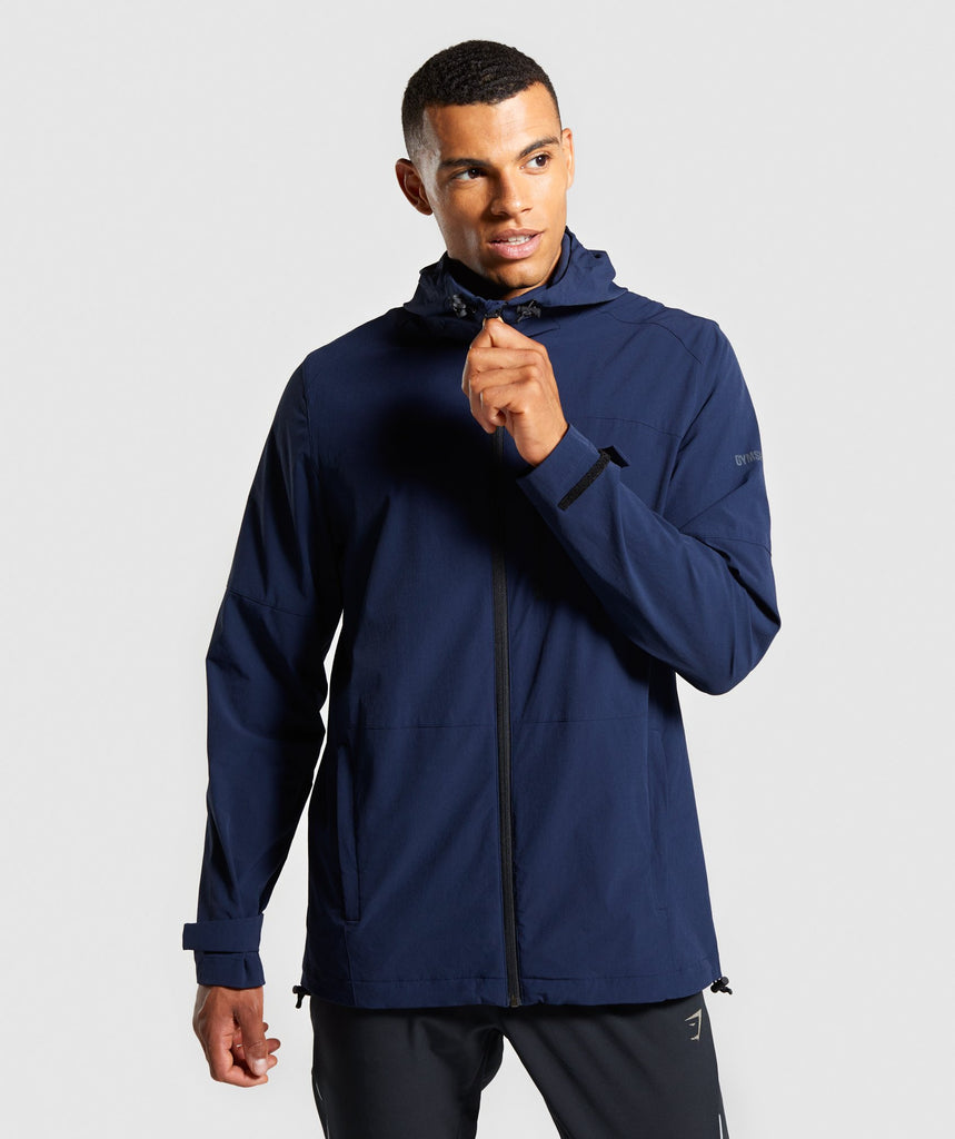 Gymshark Windcheater - Dark Blue 1