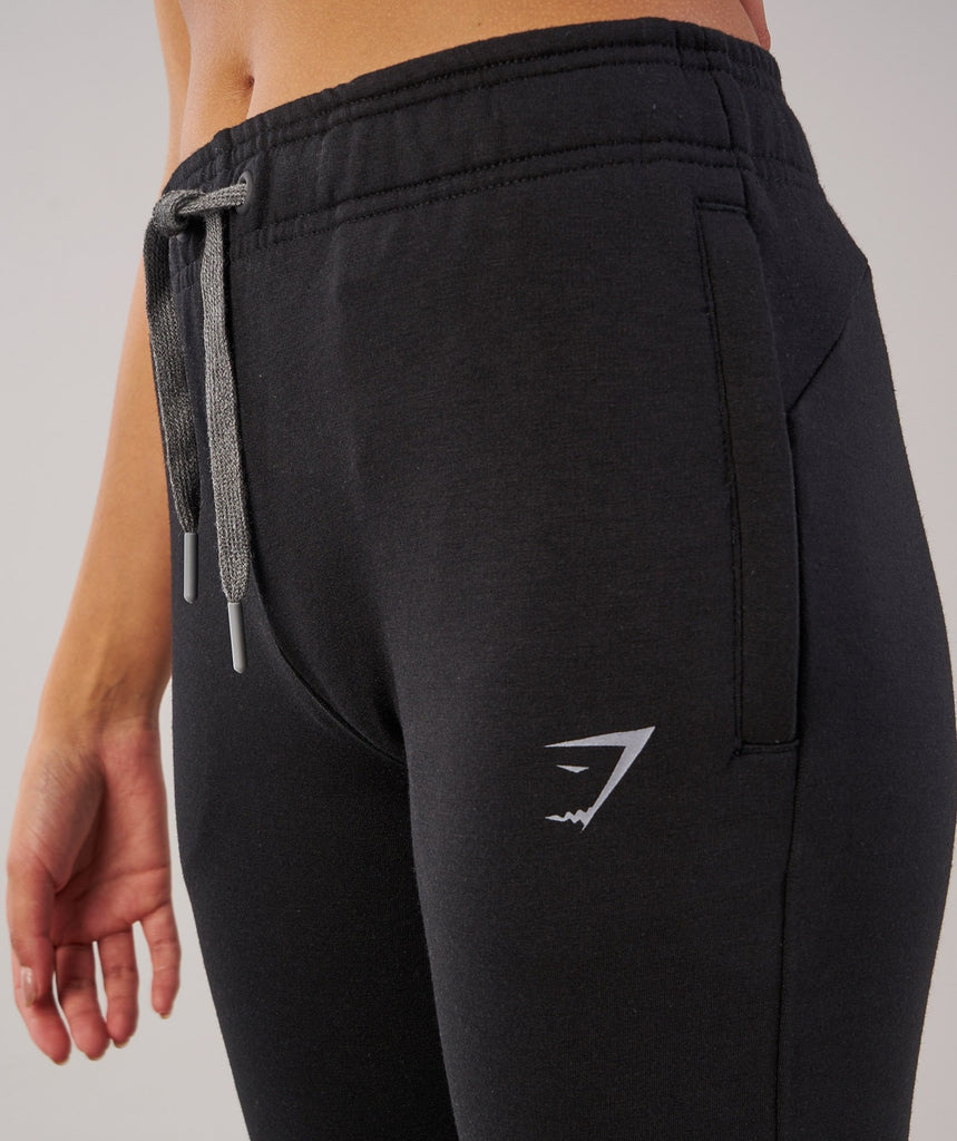 Gymshark Impulse Jogger - Black/Charcoal Marl 5