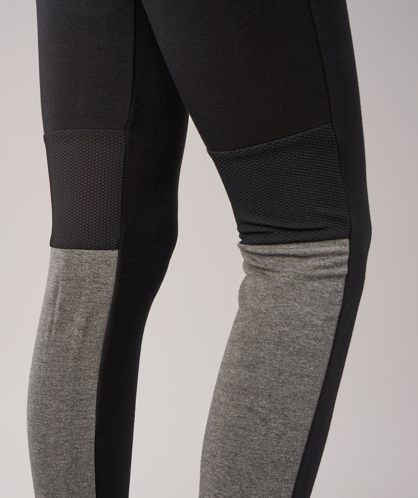 Gymshark Impulse Jogger - Black/Charcoal Marl 6