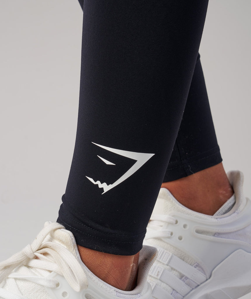 Gymshark Ark Jersey Leggings - Black 6
