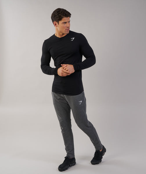 Gymshark Ark Long Sleeve T-Shirt - Black 3