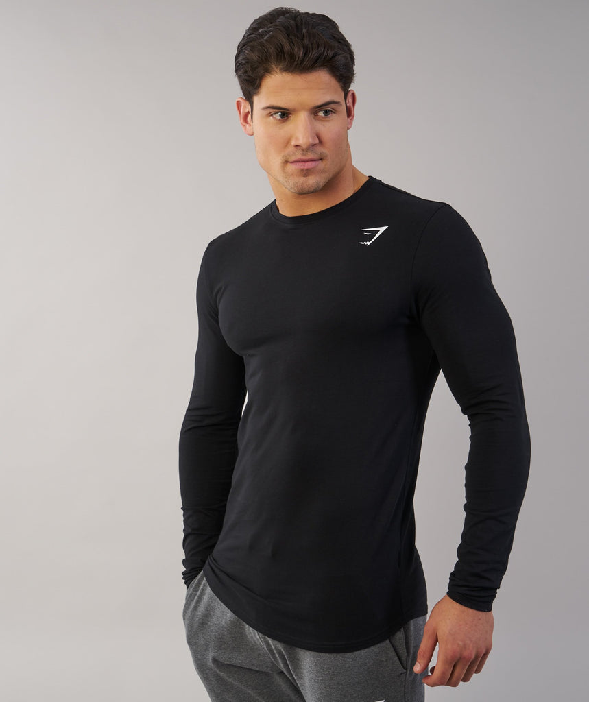Gymshark Ark Long Sleeve T-Shirt - Black 5