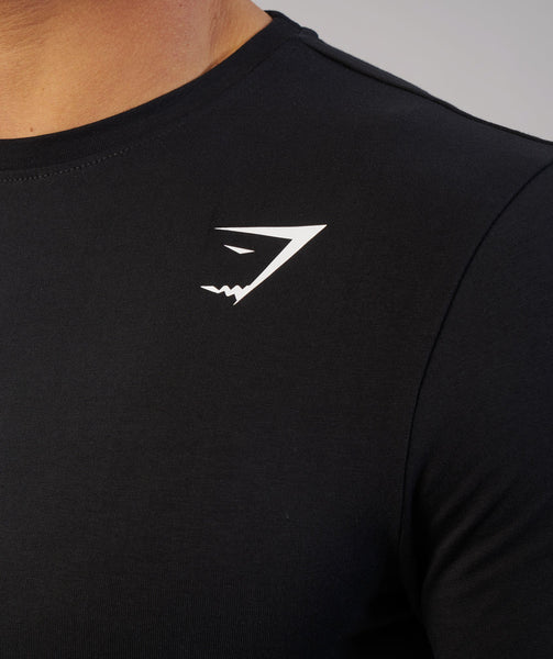 Gymshark Ark Long Sleeve T-Shirt - Black 4