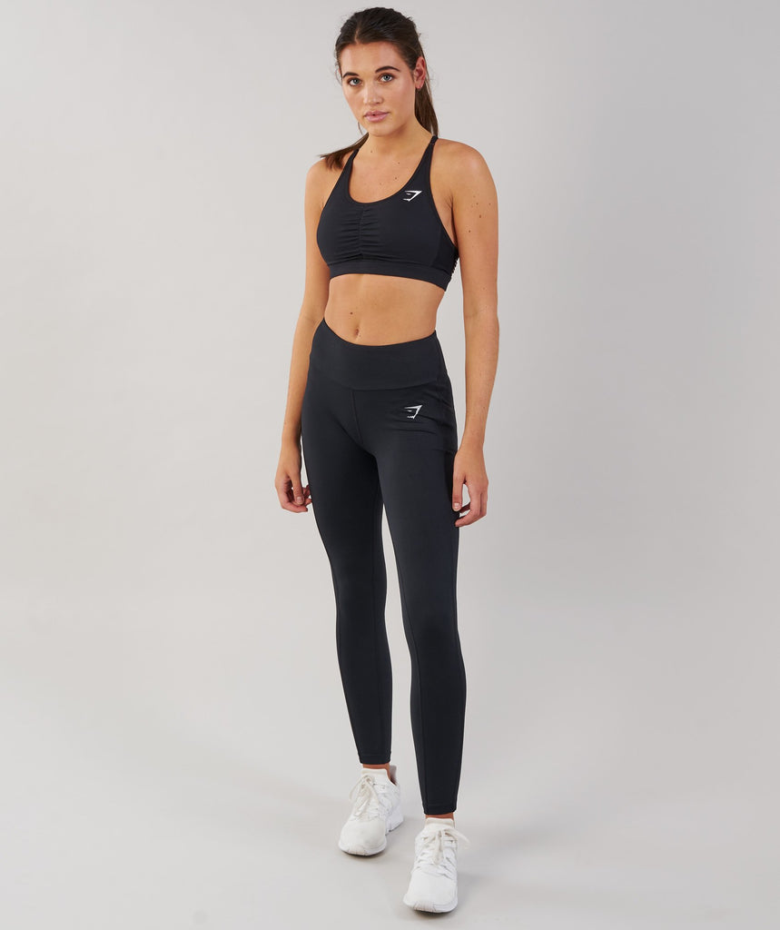 Gymshark DRY Sculpture Leggings - Black 1