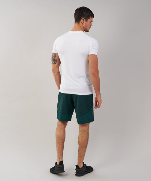 Gymshark Fallout Shorts - Forest Green Marl 1