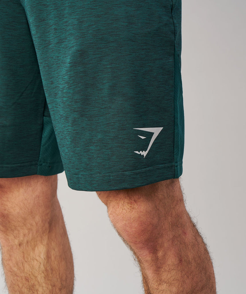 Gymshark Fallout Shorts - Forest Green Marl 6