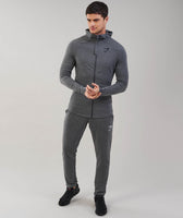 Gymshark Fit Hooded Top - Charcoal Marl 7