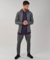 Gymshark Fit Hooded Top - Charcoal Marl 10
