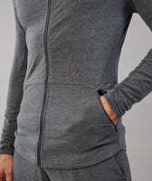Gymshark Fit Hooded Top - Charcoal Marl 12