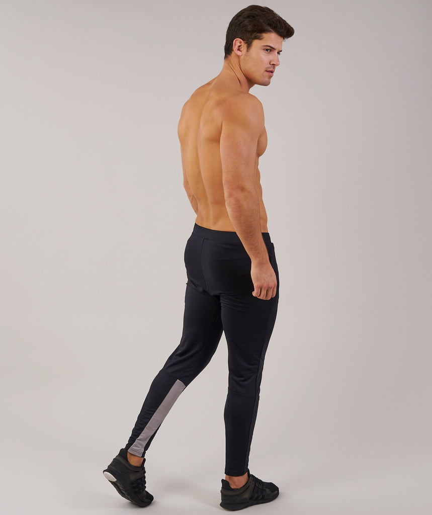 Gymshark Reactive Training Bottoms - Black/Light Grey 2