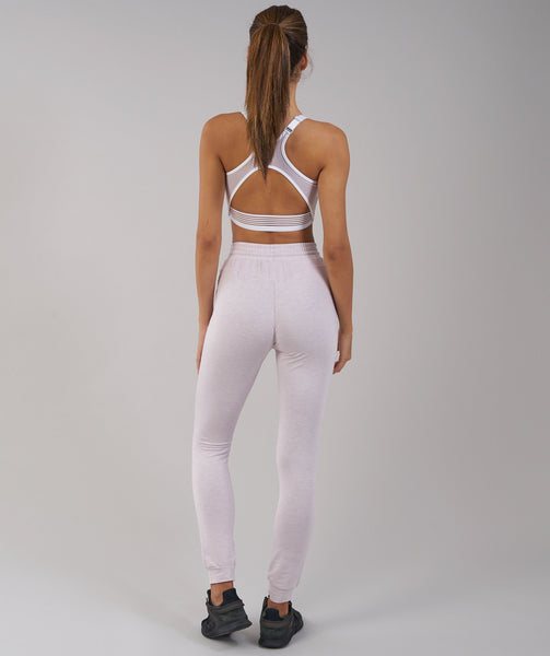 Gymshark Solace Bottoms - Chalk Pink Marl 1