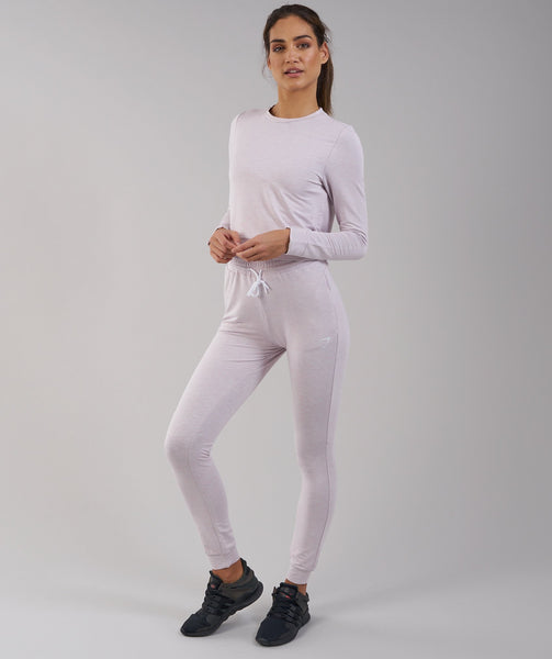Gymshark Solace Sweater - Chalk Pink Marl 2
