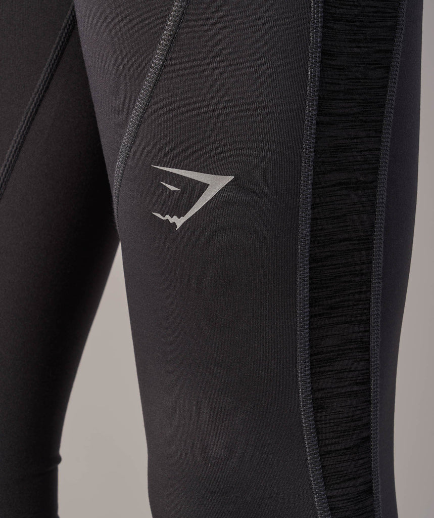 Gymshark Winter Running Leggings - Charcoal 5